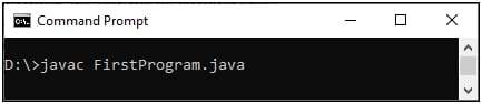 java First Program