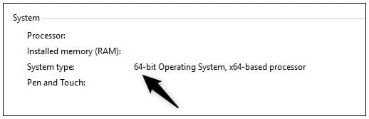 System Properties