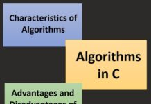 What is an Algorithm in C Programming