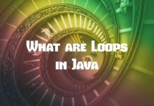what are loops in java