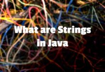 What are Strings in Java
