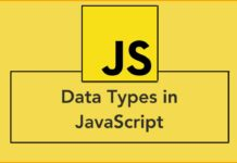 What are data types in JavaScript