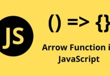 what is an arrow function in javascript