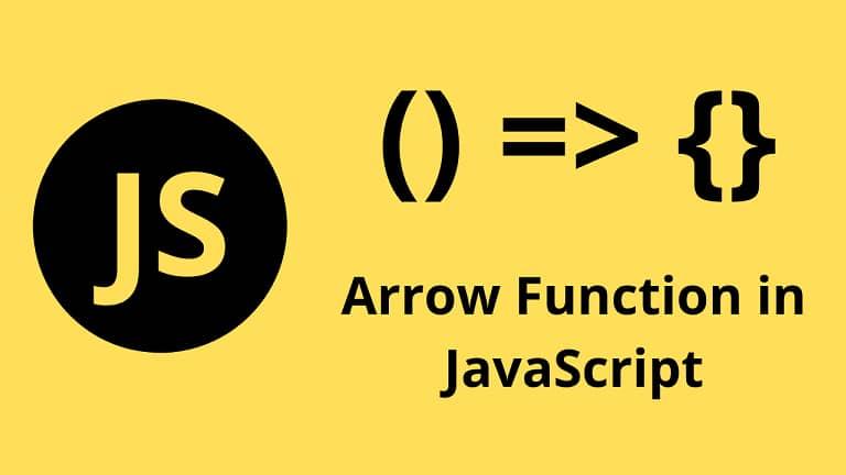 what is arrow function in javascript