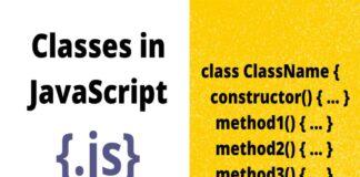 Classes in JavaScript